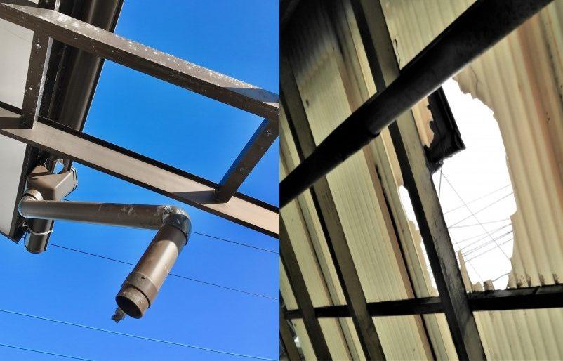 自然災害による建物の損傷